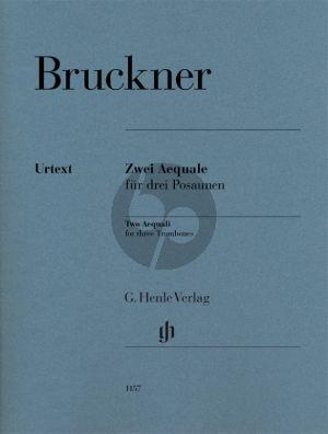 Bruckner Two Aequali for three Trombones