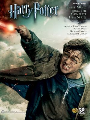 Harry Potter: Sheet Music from the Complete Film Series Big Note Piano