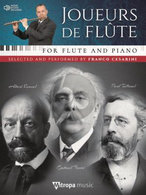 Album Joueurs de Flûte Selected and Performed by Franco Cesarini Book wit Audio Online