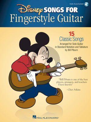 Disney Songs for Fingerstyle Guitar (arr. Bill Piburn)