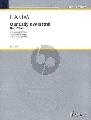 HakimOur Lady's Minstrel Soprano-Piano (Three Poems)