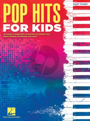 Pop Hits for Kids Easy Piano