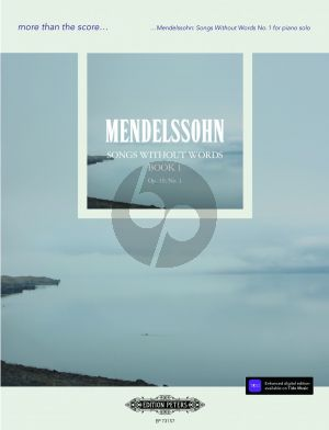 Mendelssohn Song without Words Op.19 No.1 Piano solo (edited by Daniel Grimwood)