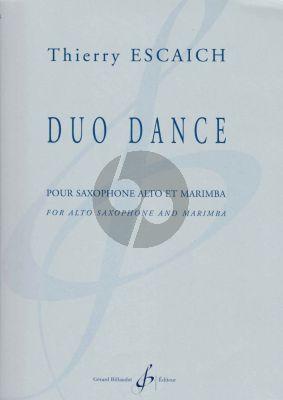 Escaich Duo Dance Alto Saxophone and Marimba