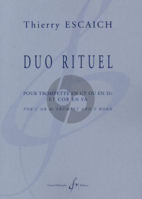 Escaich Duo Rituel Trumpet[C/Bb]-Horn[F]