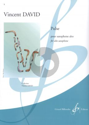 David Pulse Saxophone alto seule