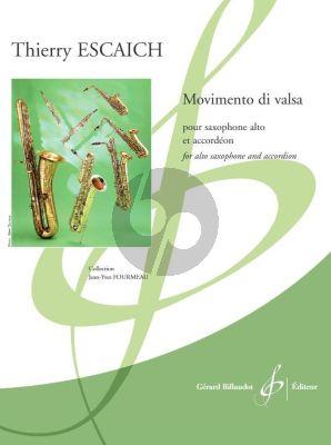 Escaich Movimento di Valsa Saxophone alto et Accordéon