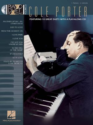 Cole Porter Classic Songs (Piano Duet Play-Along Series 23) (Bk-Cd)