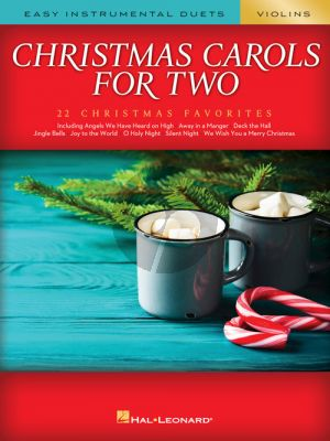 Christmas Carols for Two Violins (arr. Mark Phillips)