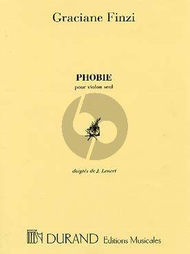 Finzi Phobie Violin solo