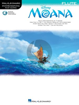 Disney Moana Instrumental Play-Along Flute (Book with Audio online)