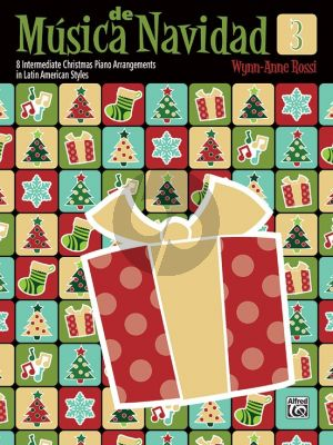 Rossi Música de Navidad Book 3 (8 Intermediate Christmas Piano Arrangements in Latin American Styles)