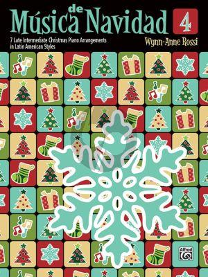 Rossi Música de Navidad Book 4 (7 Late Intermediate Christmas Piano Arrangements in Latin American Styles)