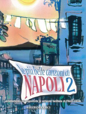Album Le più belle canzoni di Napoli Vol.2 (Adattamento per pianoforte in versione facilitata di Italo Lucia)