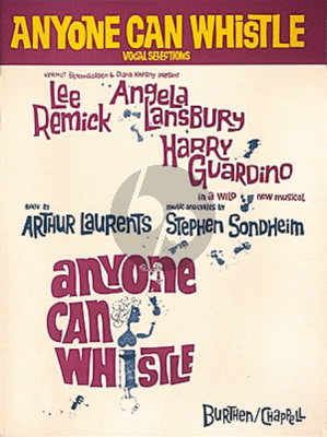 Sondheim Anyone Can Whistle (Musical 1964 Vocal Selection) (Piano/Vocal/Guitar)