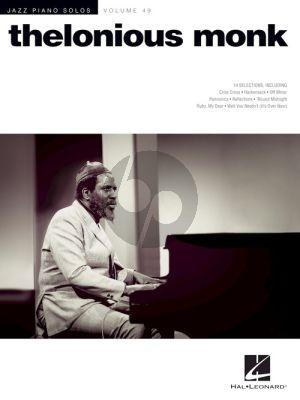 Thelonious Monk (Jazz Piano Solo Series Volume 49)