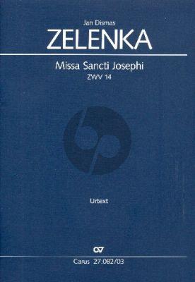 Zelenka Missa Sancti Josephi ZWV 14 (Klavierauszug) (Herausgeber Wolfgang Horn)
