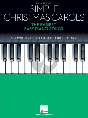 Simple Christmas Carols (The Easiest Easy Piano Songs)