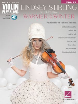 Lindsey Stirling – Selections from Warmer in the Winter (Violin Play-Along Volume 72) (Book with Audio online)