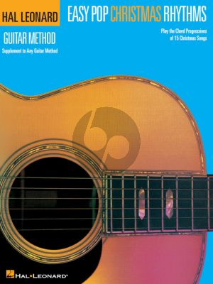 Easy Pop Christmas Rhythms (Supplement to Any Guitar Method) (Book only)