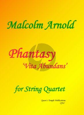 Arnold Phantasy 'Vita Abundans' String Quartet (Score/Parts)