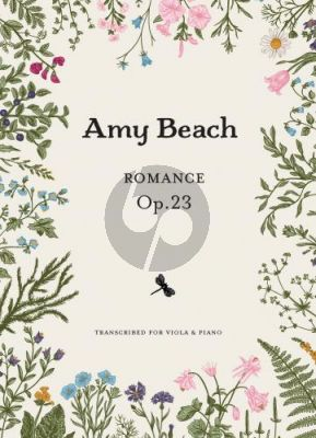 Beach Romance Op.23 Viola and Piano (transcr. by Courtney Grant)