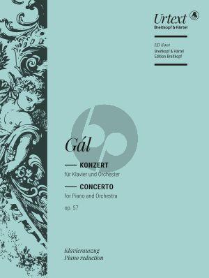 Gal Konzert Op.57 Klavier-Orchester (Klavierauszug) (Anthony Fox)
