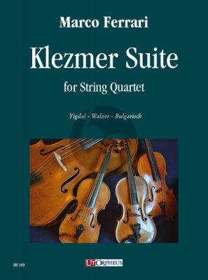 Ferrari Klezmer Suite for String Quartet (Score/Parts)