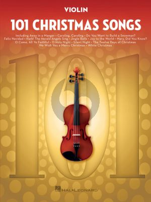 101 Christmas Songs for Violin