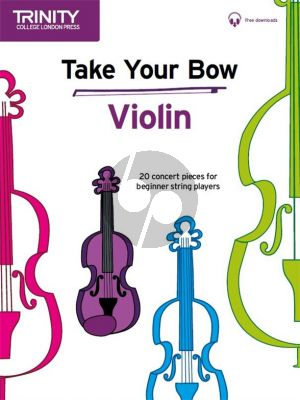 Cobb-Yandell Take a Bow for Violin (Violin-Piano) (Book with Audio online)