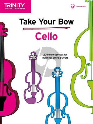 Cobb-Yandell Take your Bow for Cello (Cello-Piano) (Book with Audio online)