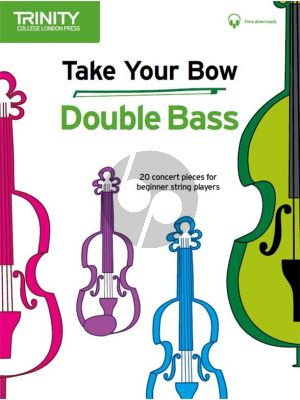 Cobb-Yandell Take your Bow for Double Bass (Double Bass-Piano) (Book with Audio online)