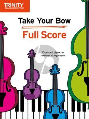 Cobb-Yandell Take your Bow for Strings (Full Score)