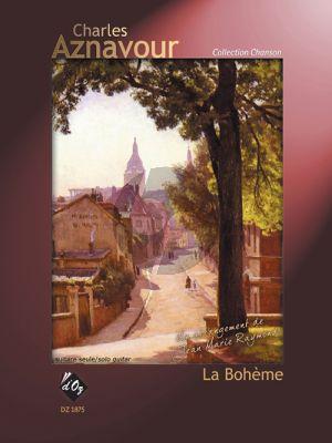Aznavour La bohème for Guitar (transcr. Jean-Marie Raymond)