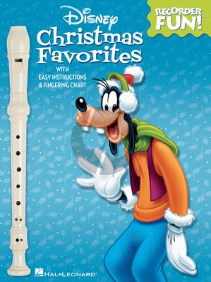 Disney Disney Christmas Favorites (for Recorder)