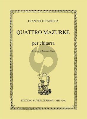 4 Mazurkas Guitar solo