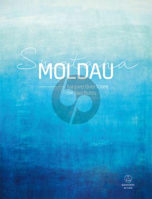 Smetana Moldau for two Flutes (arr. Jennifer Seubel) (Playing Score)