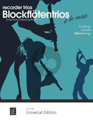 Recorder Trios à la carte - Ensemble Dreiklang's Recorder Trio (SAB) (Score/Parts)