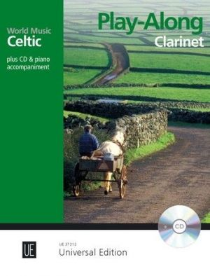 Celtic – Play Along for Clarinet with CD or Piano accompaniment (Bk-Cd) (Martin Tourish)