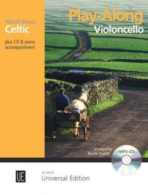 Celtic – Play Along for Cello with CD or Piano accompaniment (Bk-Cd) (Martin Tourish)