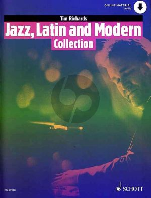 Richards Jazz, Latin and Modern Collection (15 Pieces for Solo Piano) (Book with Audio online)