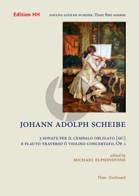 Scheibe 3 Sonatas Op.1 Flute and Basso Continuo (Michael Elphinstone)