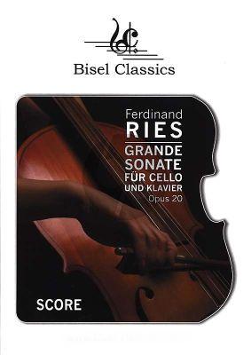 Grande Sonate Op.20 (Violoncello und Klavier) (Editor Stephen Begley, Nur Partitur)