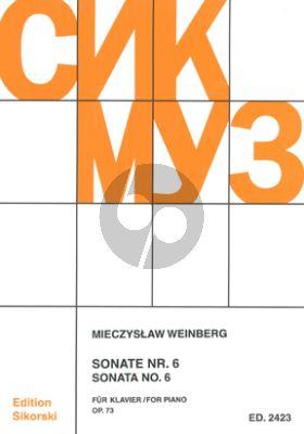Weinberg Sonate No.6 Op.73 Klavier