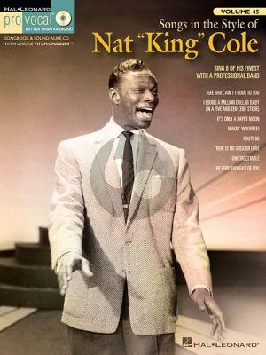 """Songs in the Style of Nat """"King"""" Cole"""