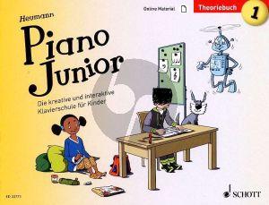 Piano Junior: Theoriebuch 1