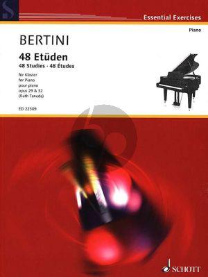 Bertini 48 Etüden Op. 29 und Op. 32 Klavier (Ruth Taneda)