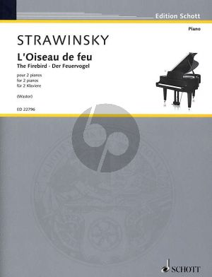 Strawinsky The Firebird -L'Oiseau de feu Suite (1919) 2 Piano's (Achilleas Wastor)