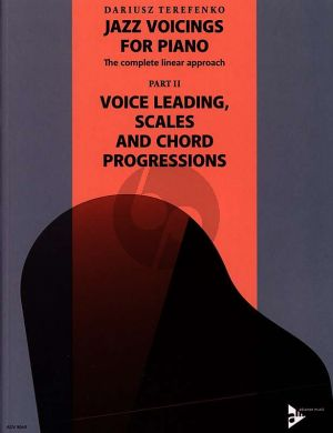Terefenko Jazz Voicings for Piano (The complete linear approach Part 2) (Voice Leading-Scales and Chord Progressions)