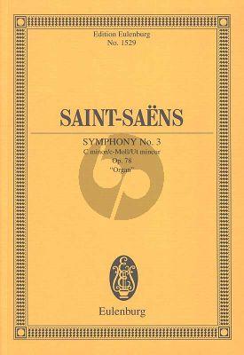 "Symphony No.3 c-minor Op.78 ""Organ Symphony"" Study Score"